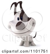 Clipart 3d Jack Russell Terrier Dog Smiling Royalty Free CGI Illustration