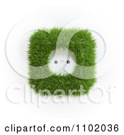 Clipart 3d Grassy Electrical Outlet Royalty Free CGI Illustration