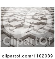 Clipart 3d Cubes And Light Royalty Free CGI Illustration by Mopic