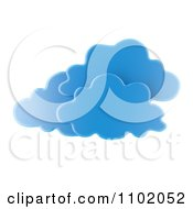 Clipart 3d Blue Clouds Royalty Free CGI Illustration by Mopic