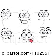 Clipart Pairs Of Expressional Eyes 1 Royalty Free Vector Illustration by Vector Tradition SM