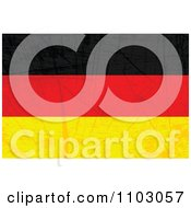 Clipart Grungy German Flag Royalty Free Vector Illustration by Andrei Marincas