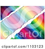 Clipart Rainbow Background With Diagonal Grunge Copyspace Royalty Free Vector Illustration by Andrei Marincas