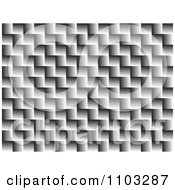 Clipart Gray Zig Zag Background Pattern Royalty Free Vector Illustration