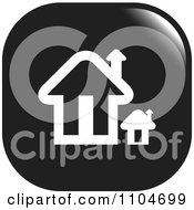 Clipart Black And White Home Page Or House Icon Royalty Free Vector Illustration