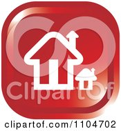 Clipart Red Home Page Or House Icon Royalty Free Vector Illustration