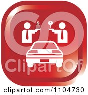 Clipart Red Car Sales Icon Royalty Free Vector Illustration