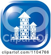 Clipart Blue Investment Property Apartment Building Icon Royalty Free Vector Illustration by Lal Perera