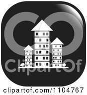 Clipart Black And White Investment Property Apartment Building Icon Royalty Free Vector Illustration by Lal Perera