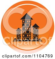 Clipart Orange Investment Property Apartment Building Icon Royalty Free Vector Illustration by Lal Perera