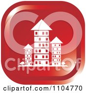 Clipart Red Investment Property Apartment Building Icon Royalty Free Vector Illustration