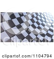 Clipart 3d Background Of Checkers Royalty Free CGI Illustration