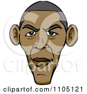 Caricature Of Barack Obamas Face