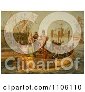 The First Voyage Royalty Free Historical Stock Illustration