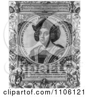 Christophorus Columbus Royalty Free Historical Stock Illustration