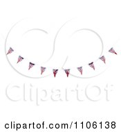 Clipart 3d Union Jack Bunting Banner Flags 3 Royalty Free CGI Illustration