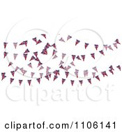 Clipart 3d Union Jack Bunting Banner Flags 1 Royalty Free CGI Illustration