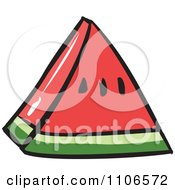 Clipart Whole Watermelon - Royalty Free Vector Illustration by ...