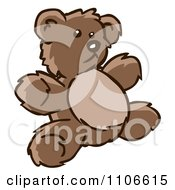 Clipart Teddy Bear Royalty Free Vector Illustration by Cartoon Solutions