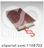 Clipart 3d Vintage Law And Legislation Book With A Law And Section Symbol Royalty Free CGI Illustration by Mopic