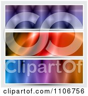 Clipart Colorful Banners Royalty Free Vector Illustration