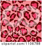 Clipart Seamless Pink Leopard Print Background Pattern 2 Royalty Free Vector Illustration by Amanda Kate