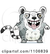 Clipart Ugly Lemur Royalty Free Vector Illustration by Cory Thoman