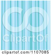 Seamless Blue Stripes Pattern Background