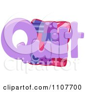 The Word Quilt For Letter Q
