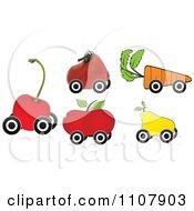 Clipart Produce Shaped Royalty Free Vector Illustration by Andrei Marincas