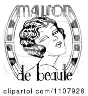 Black And White Maison De Beaute Woman