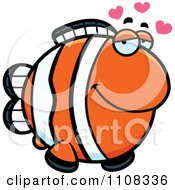 Clipart Amorous Clownfish Royalty Free Vector Illustration by Cory Thoman