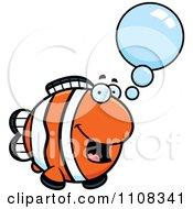 Clipart Talking Clownfish Royalty Free Vector Illustration