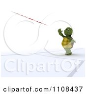 Clipart 3d Tortoise Javelin Track And Field Athlete 2 Royalty Free CGI Illustration
