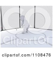 Clipart 3d Athletic White Character Throwing The Hammer 1 Royalty Free CGI Illustration
