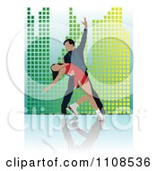 Clipart Couple Figure Skating 2 Royalty Free Vector Illustration by leonid