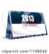Clipart 2013 Calendar 4 Royalty Free Vector Illustration