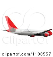 Clipart Commercial Airliner Air Bus Plane 4 Royalty Free Vector Illustration