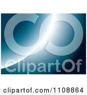 Clipart Blue Planet And Eclipse Royalty Free Vector Illustration