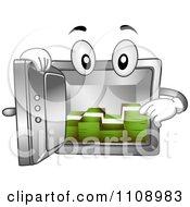 Vault Mascot With Cash