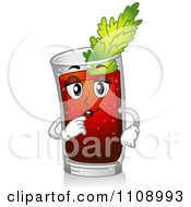Bloody Mary Cocktail Mascot