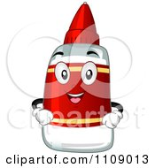 Clipart Happy Glue Mascot Royalty Free Vector Illustration