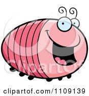 Clipart Chubby Happy Grub Royalty Free Vector Illustration