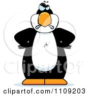 Clipart Angry Penguin Royalty Free Vector Illustration