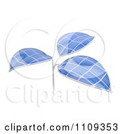 Clipart 3d Artificial Photovoltaic Solar Panel Cell Plant Royalty Free CGI Illustration by Mopic