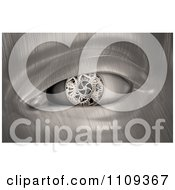 Clipart 3d Gear Eye On A Metal Robot Royalty Free CGI Illustration