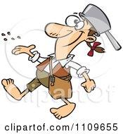 royalty free  rf  clip art illustration of a cartoon black johnny appleseed clipart free johnny appleseed clip art free