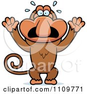 royaltyfree rf stressed monkey clipart illustrations