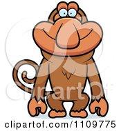 Happy Proboscis Monkey