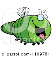 Clipart Hungry Dragonfly Royalty Free Vector Illustration by Cory Thoman